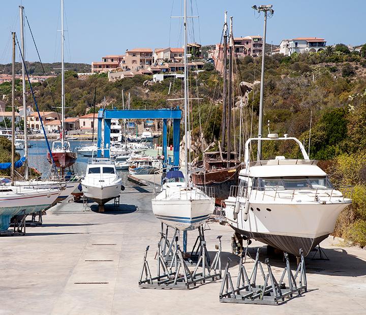 servizi cantiere - porto santa teresa gallura
