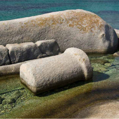 spiaggia delle colonne romane santa teresa di gallura